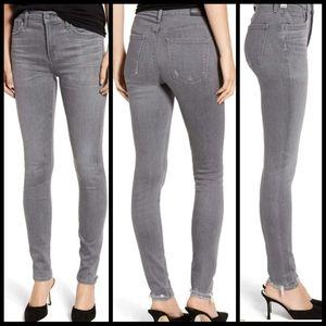 COH Rocket Distressed Gray Skinny Jeans